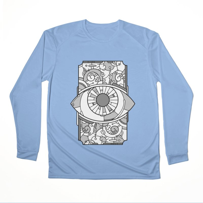 Psychedelic Eye Women's Longsleeve T-Shirt by Os Frontis