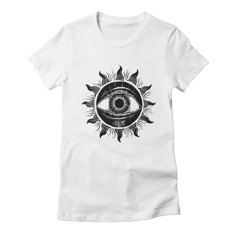 Consciousness Women's Fitted T-Shirt by Os Frontis