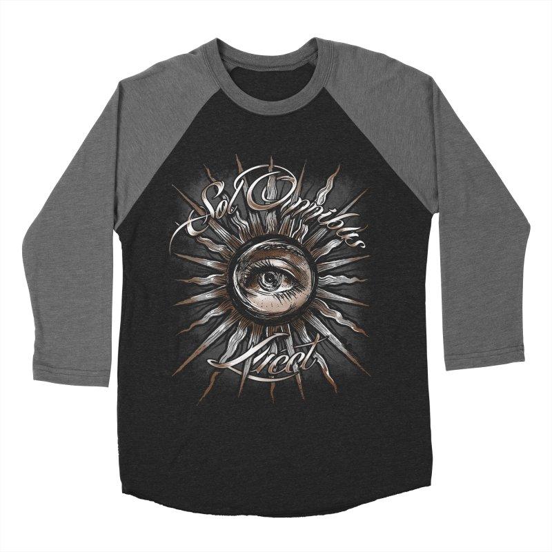 Sol Omnibus Lucet Men's Baseball Triblend T-Shirt by Os Frontis