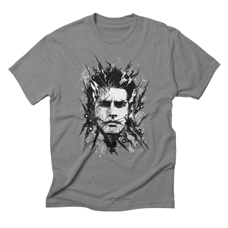 Nameless Men's Triblend T-Shirt by Os Frontis