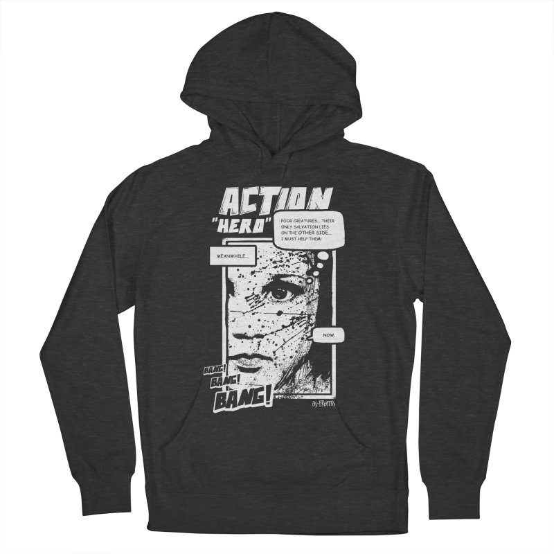 Action Hero Men's Pullover Hoody by Os Frontis