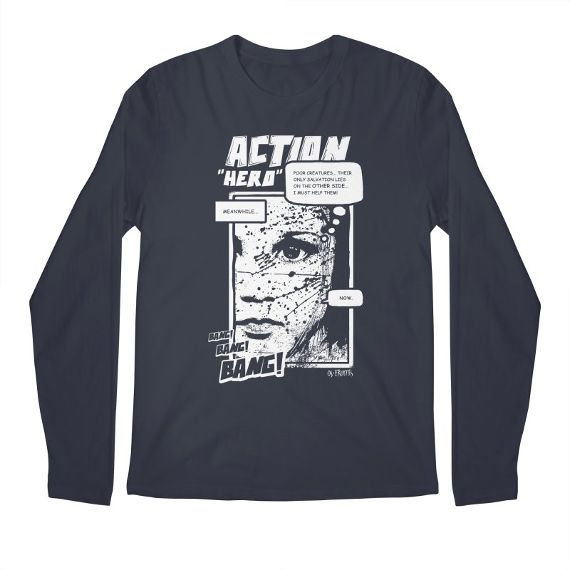 Action Hero Men's Longsleeve T-Shirt by Os Frontis