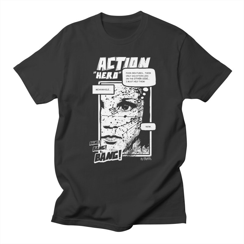 Action Hero Men's T-shirt by Os Frontis
