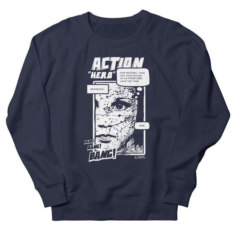 Action Hero Men's Sweatshirt by Os Frontis
