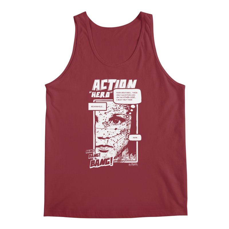Action Hero Men's Tank by Os Frontis