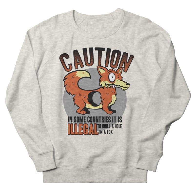 Caution Men's Sweatshirt by Os Frontis