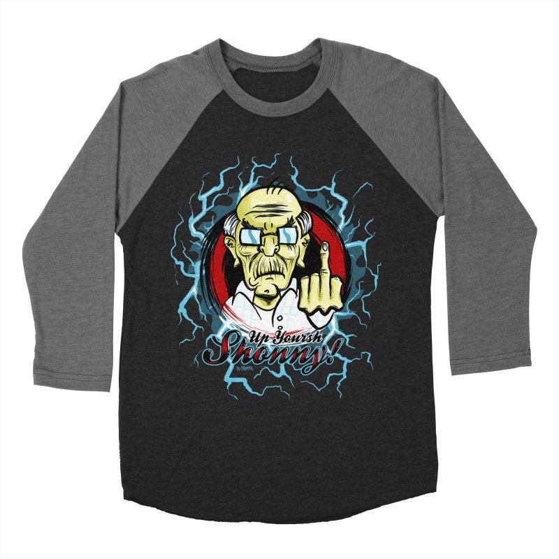 Flip off Men's Baseball Triblend T-Shirt by Os Frontis