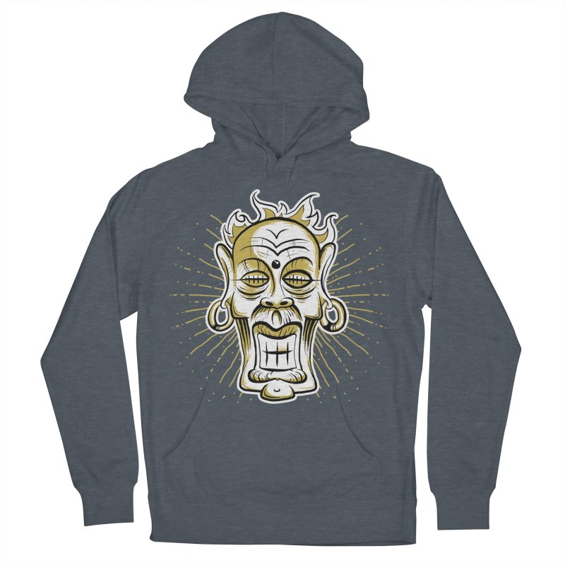 Fire God Men's Pullover Hoody by Os Frontis