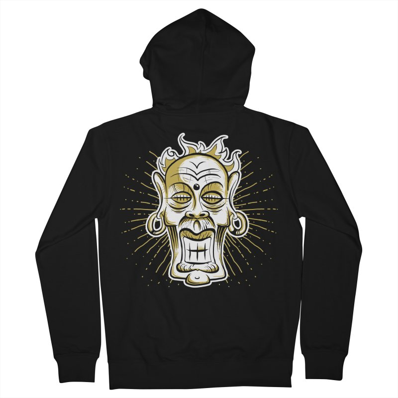 Fire God Women's Zip-Up Hoody by Os Frontis