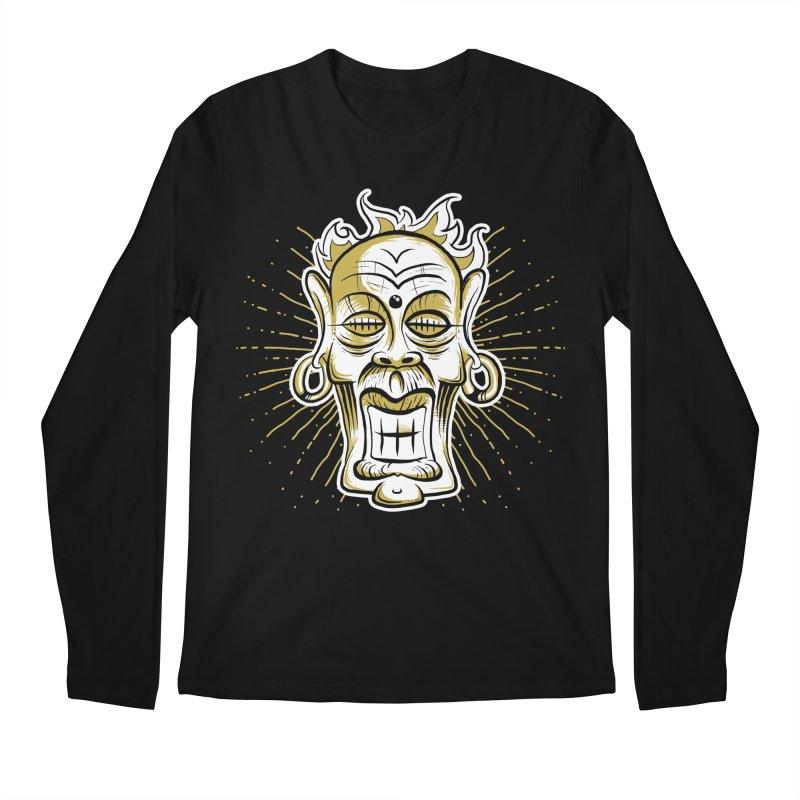 Fire God Men's Longsleeve T-Shirt by Os Frontis