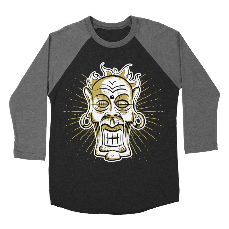 Fire God Men's Baseball Triblend T-Shirt by Os Frontis