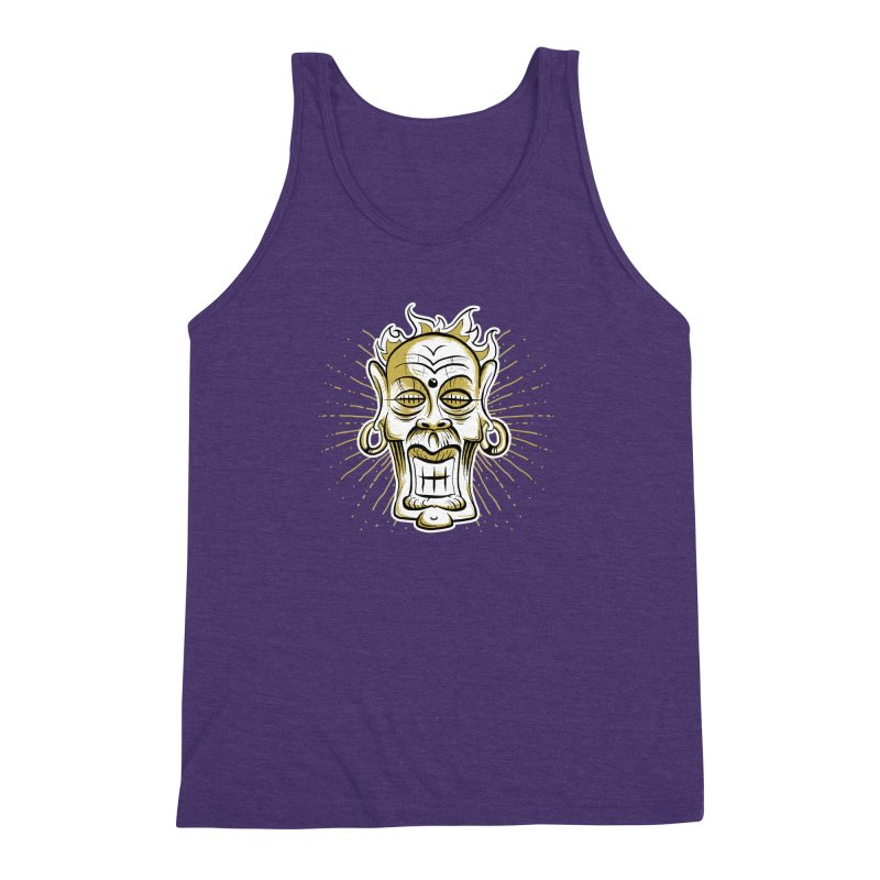 Fire God Men's Triblend Tank by Os Frontis