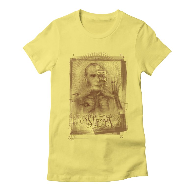 Homo Aeternus Women's Fitted T-Shirt by Os Frontis