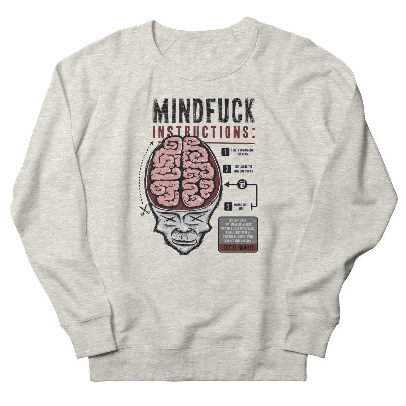 Mindfuck Men's Sweatshirt by Os Frontis