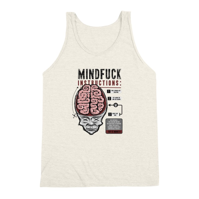 Mindfuck Men's Triblend Tank by Os Frontis