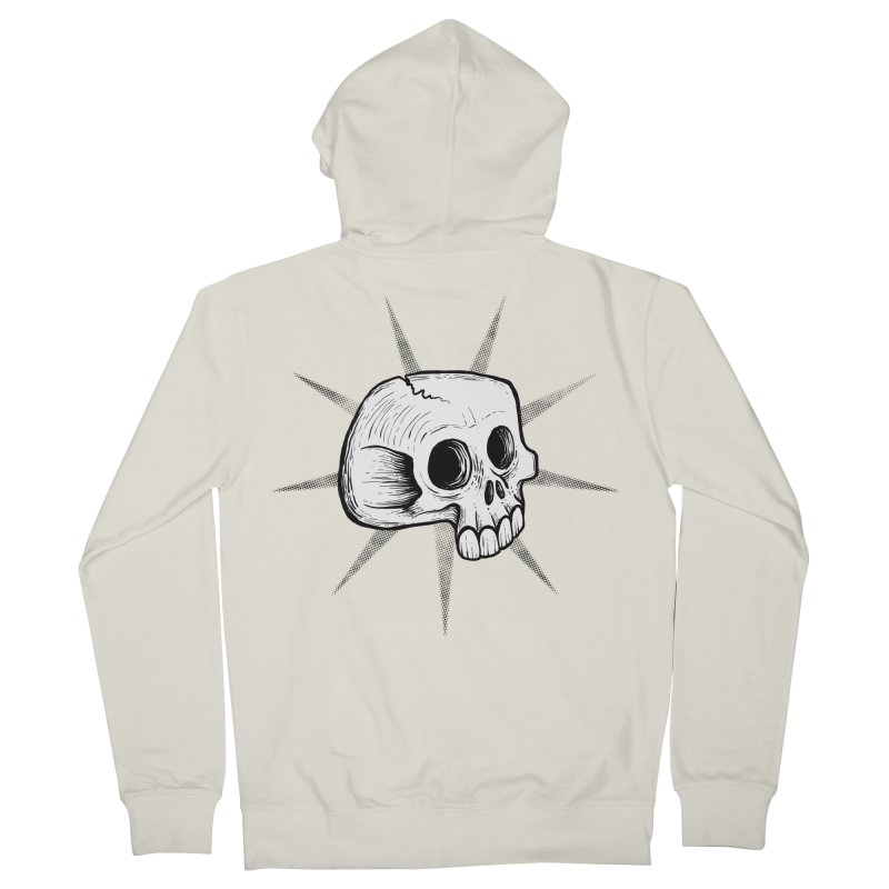 Punk Skull Women's Zip-Up Hoody by Os Frontis