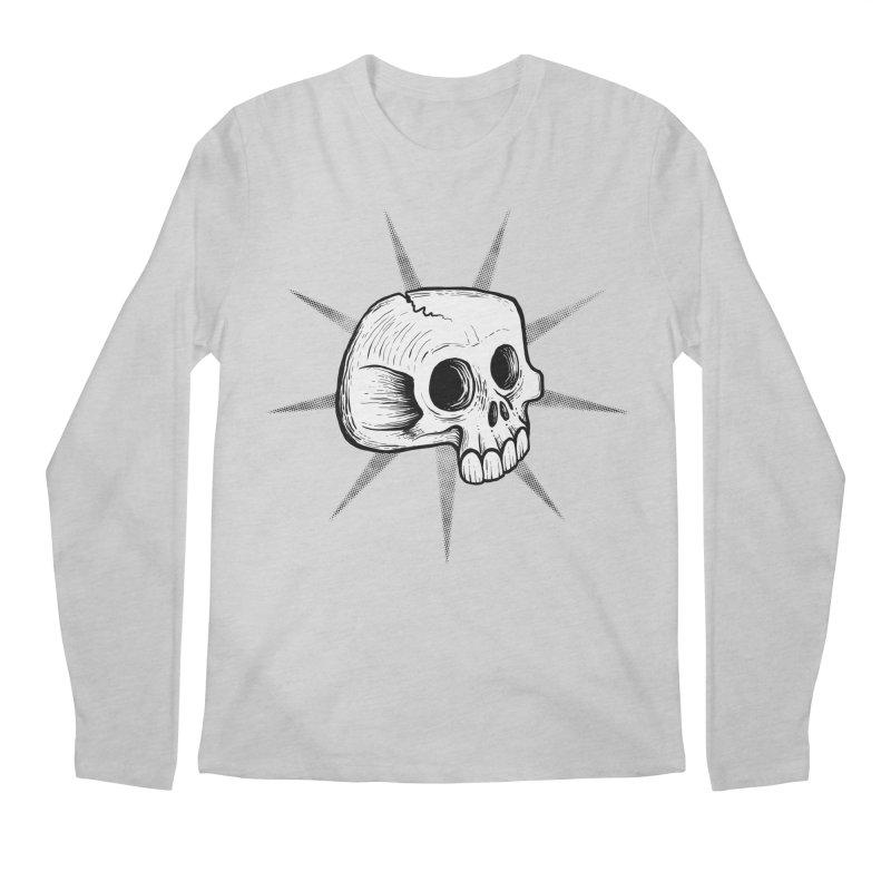 Punk Skull Men's Longsleeve T-Shirt by Os Frontis