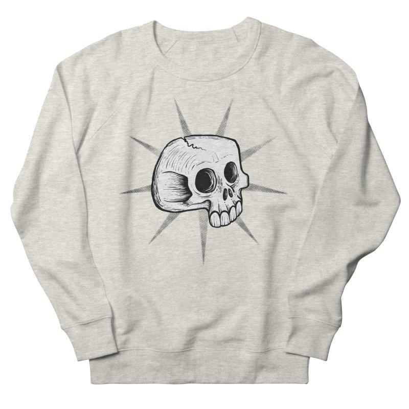 Punk Skull Women's Sweatshirt by Os Frontis