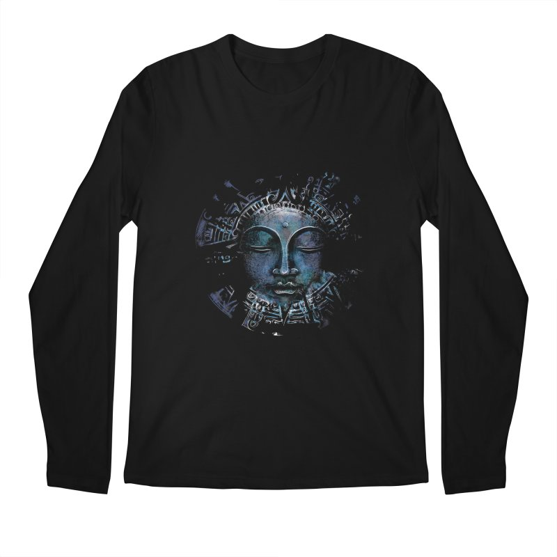 Buddha Men's Longsleeve T-Shirt by Os Frontis