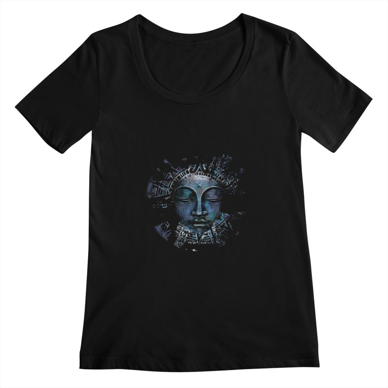 Buddha Women's Scoopneck by Os Frontis