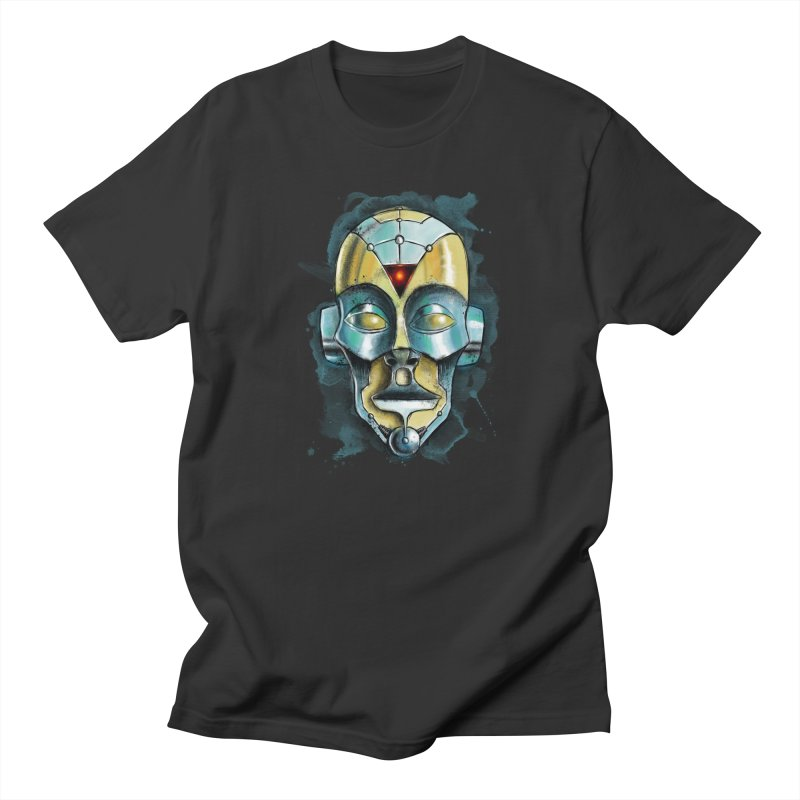 Cyber Mask Men's T-Shirt by Os Frontis
