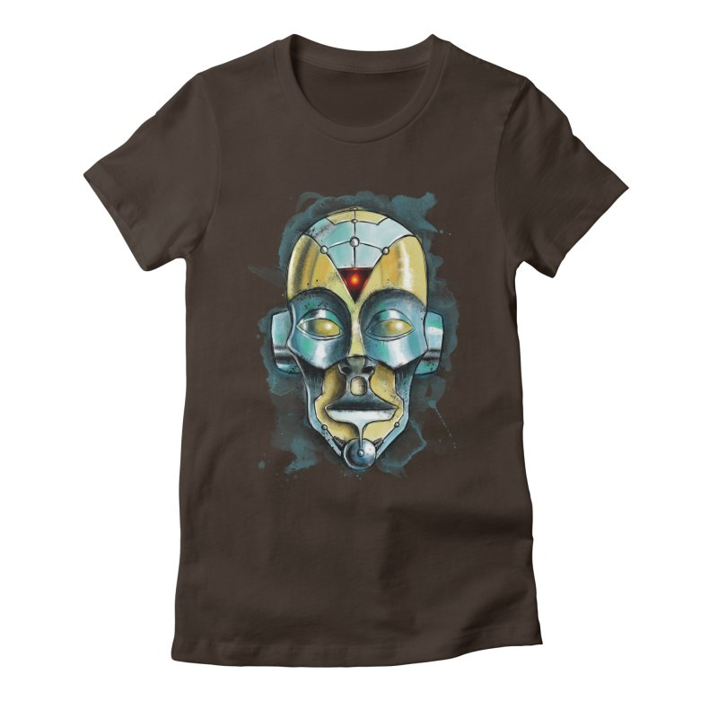 Cyber Mask Women's T-Shirt by Os Frontis