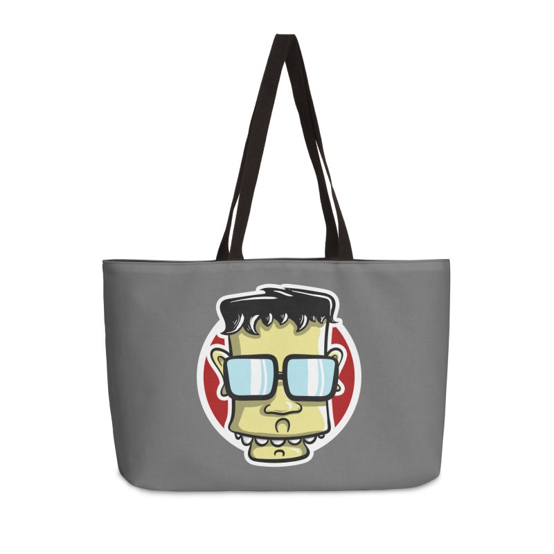 Geek Face Accessories Bag by Os Frontis