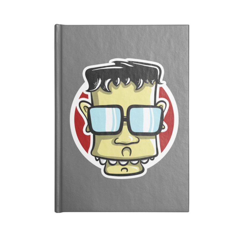 Geek Face Accessories Notebook by Os Frontis