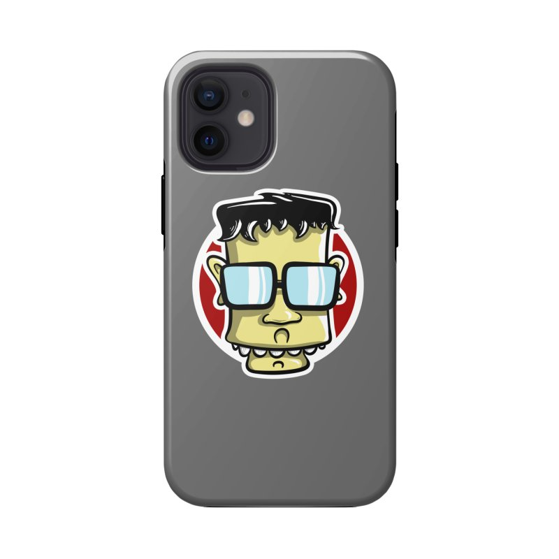 Geek Face Accessories Phone Case by Os Frontis