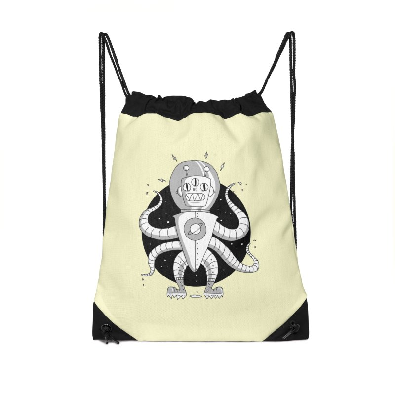 Alien Spaceman Accessories Bag by Os Frontis