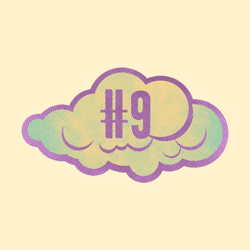 Cloud number nine Accessories Sticker by Os Frontis