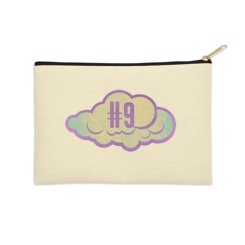 Cloud number nine Accessories Zip Pouch by Os Frontis
