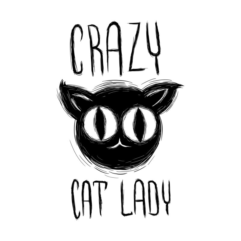 Crazy Cat Lady Accessories Mug by Os Frontis