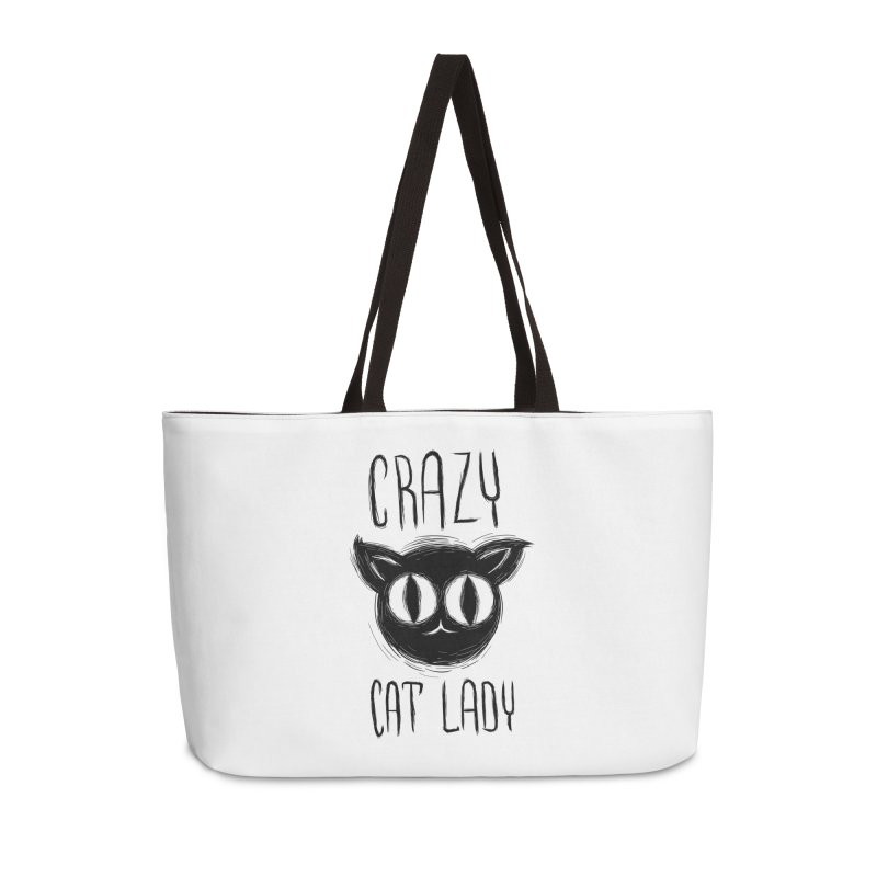 Crazy Cat Lady Accessories Bag by Os Frontis