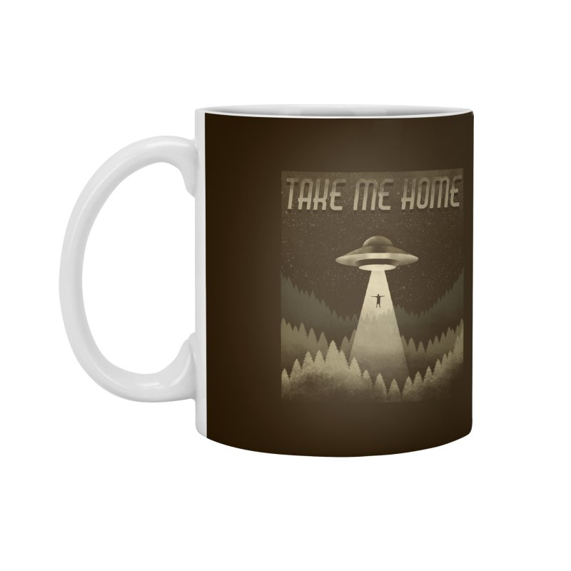 UFO Accessories Mug by Os Frontis