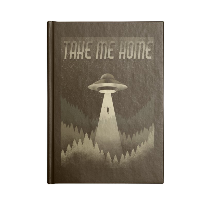 UFO Accessories Notebook by Os Frontis