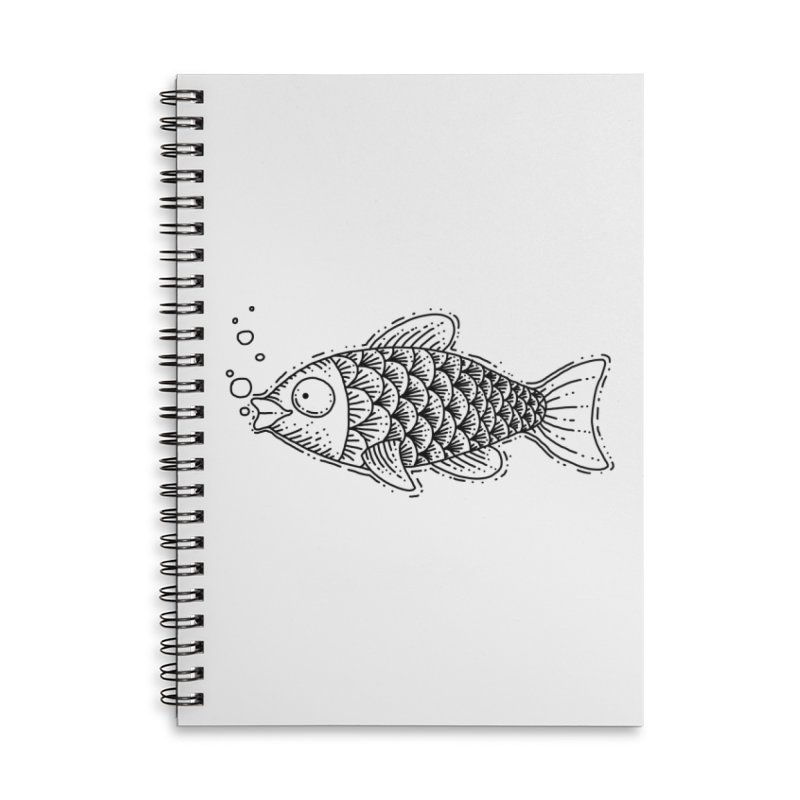 Fish Accessories Notebook by Os Frontis