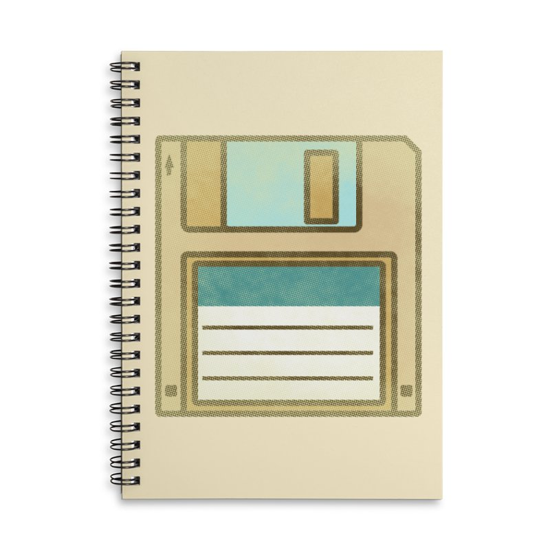 Floppy Disc Accessories Notebook by Os Frontis