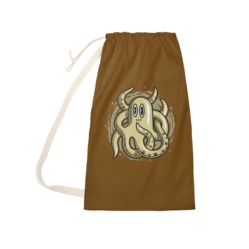 Funny Octopus Accessories Bag by Os Frontis