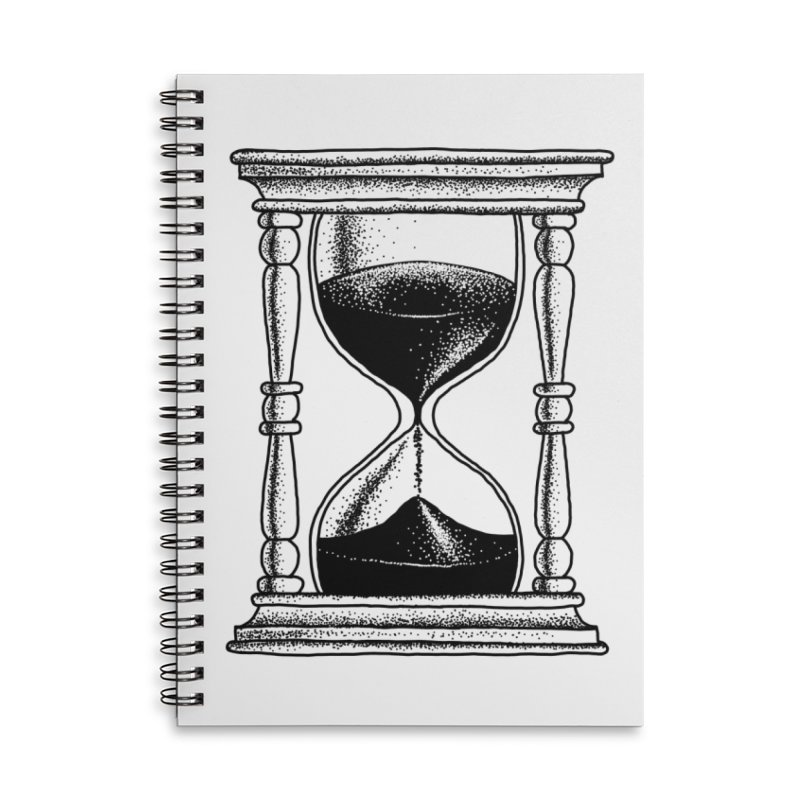 Dot Work Hourglass Accessories Notebook by Os Frontis