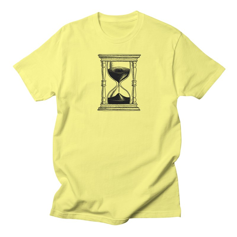Dot Work Hourglass Men's T-Shirt by Os Frontis