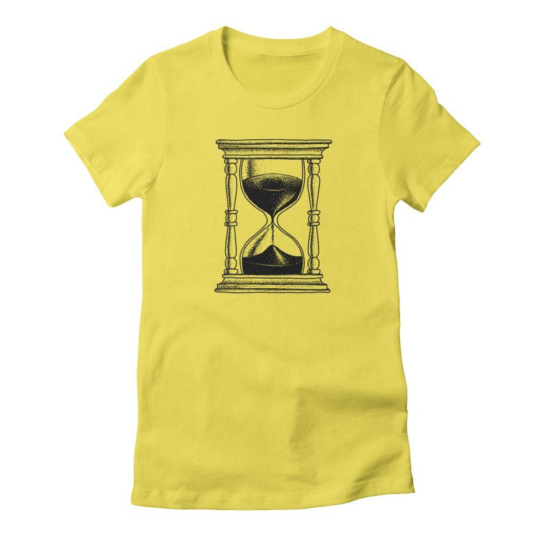 Dot Work Hourglass Women's T-Shirt by Os Frontis