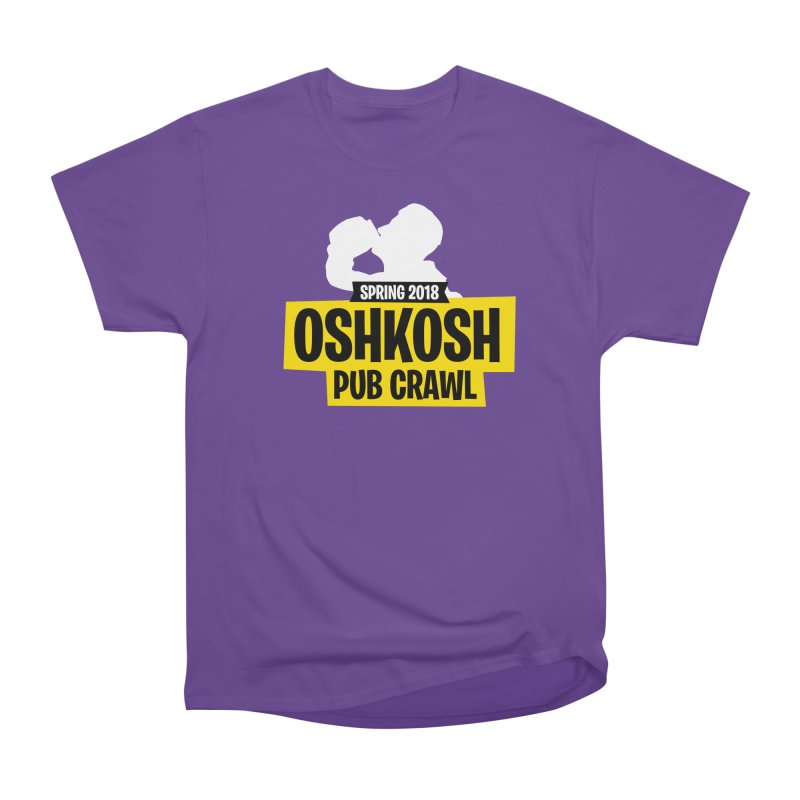 Oshkosh Royale Men's Heavyweight T-Shirt by Oshkosh Pub Crawl