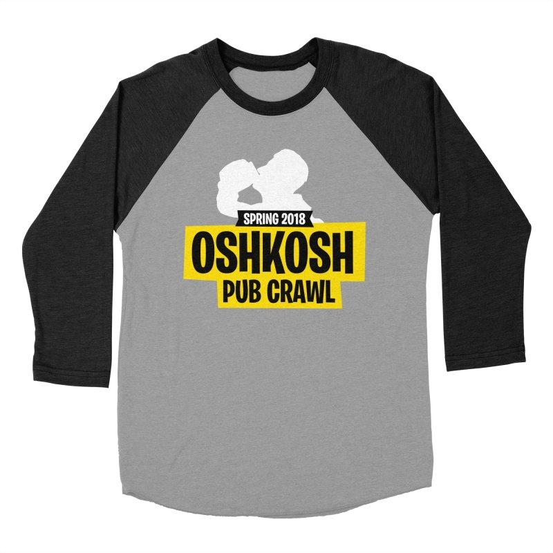 Oshkosh Royale Men's Baseball Triblend T-Shirt by Oshkosh Pub Crawl