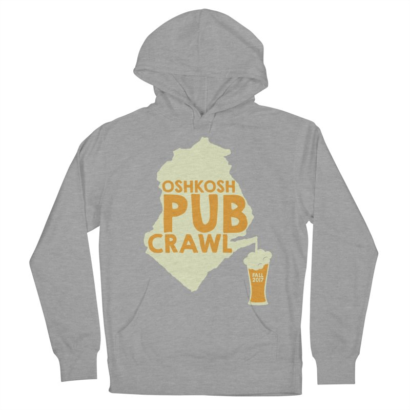 On Tap (Multiple Colors) in Men's Pullover Hoody Heather Graphite by Oshkosh Pub Crawl