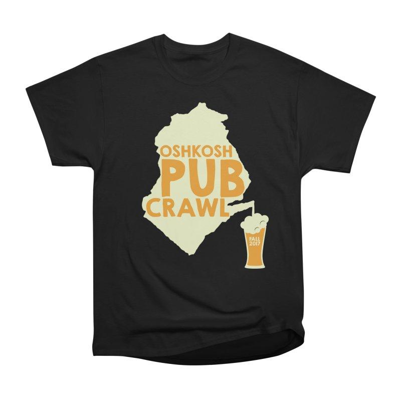 On Tap (Multiple Colors) Men's Classic T-Shirt by Oshkosh Pub Crawl