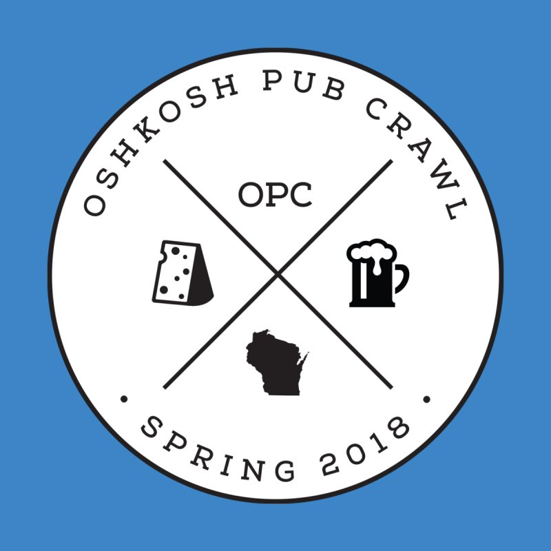 Badge Women's Fitted T-Shirt by Oshkosh Pub Crawl