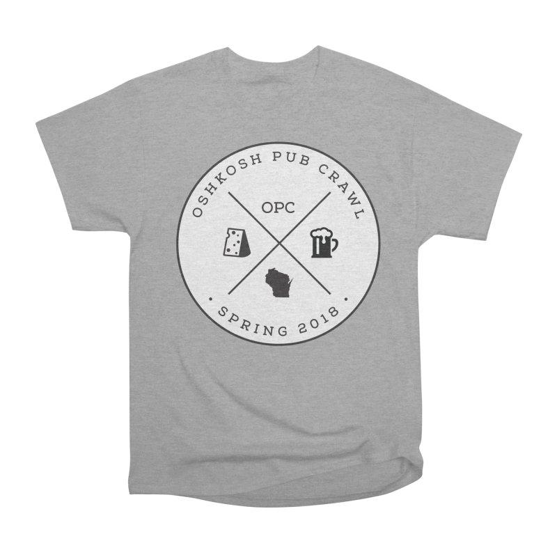 Badge in Men's Heavyweight T-Shirt Heather Graphite by Oshkosh Pub Crawl