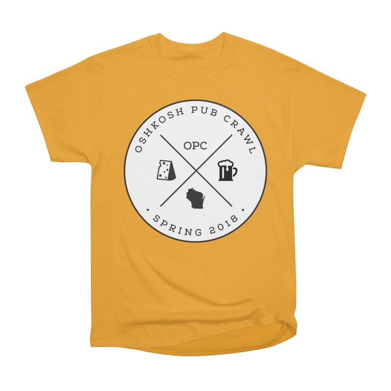 Badge Men's T-Shirt by Oshkosh Pub Crawl