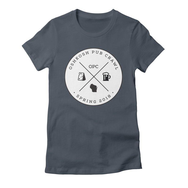 Badge Women's T-Shirt by Oshkosh Pub Crawl